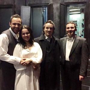 La Traviata, Deutsche Oper, Berlin 01/2015 | Murat Karahan (Alfredo), Aleksandra Kurzak (Violetta), Maestro Ivan Repusic