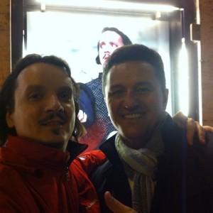 z Piotrem Beczałą po spektaklu Il Trovatore, Theater an der Wien / Wiener Festwochen, 05/2013