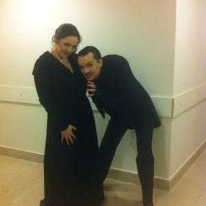I Masnadieri, Teatro La Fenice, Venzia, 01/2013 | Maria Agresta (Amalia)