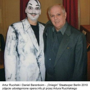 Onegin, Staatsoper Berlin, 03/2010 | Maestro Daniel Barenboim
