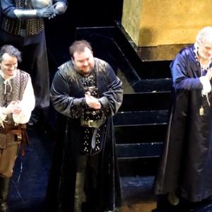 Simon Boccanegra, Teatro alla Scala, Milano 11/2014 | Fabio Sartori (Gabriele Adorno), Placido Domingo (Simone)