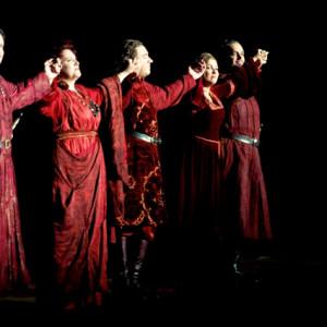 Il Trovatore, Salzburger Festspiele 18/08/2014 | Marie Nicole Lemieux (Azucena), Francesco Meli (Manrico), Anna Netrebko (Leonora), Ricardo Zanellato (Ferrando)