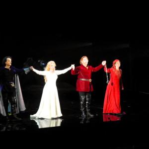 Il Trovatore, Teatro La Fenice, Venezia 09/2014 | Carmen Giannatasio (Leonora), Gregory Kunde (Manrico), Veronica Simeoni (Azucena)