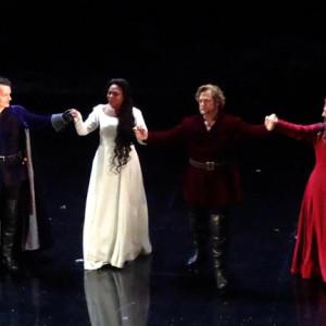 Il Trovatore, Teatro La Fenice, Venezia 09/2014 | Kristin Lewis (Leonora), Gregory Kunde (Manrico), Veronica Simeoni (Azucena)