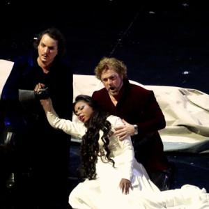 Il Trovatore, Teatro La Fenice, Venezia 09/2014 | Kristin Lewis (Leonora), Gregory Kunde (Manrico)